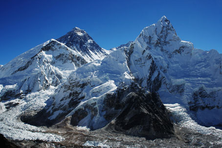 Mount Everest glaciers melting rapidly, says study